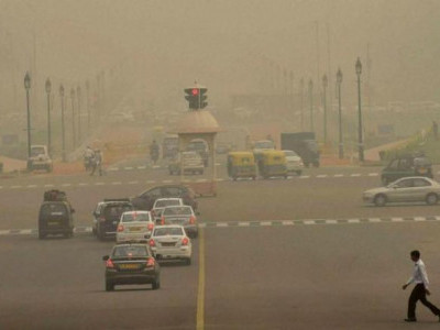 Air quality in Delhi-NCR improves due to strong winds