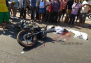 مرڈیشور میں بائک کی بجلی کھمبے سے ٹکر؛ بائک سوار ہلاک