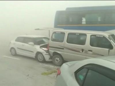 گریٹر نوئیڈا میں دو سڑک حادثوں میں 10 کی موت، ایک ہی خاندان کے تھے 6 لوگ