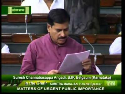 Union Cabinet condoles MoS Suresh Angadi's demise