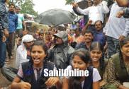 بھٹکل میں موگیر سماج کا زبردست احتجاجی مظاہرہ؛  شیڈولڈ کاسٹ کی سرٹفکیٹ دینے میں ہورہی کوتاہیوں کے خلاف نکالی گئی ریلی
