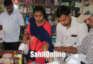 Plastic materials seized in Bhatkal