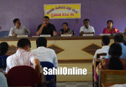بھٹکل کے ڈی پی میٹنگ میں فوریسٹ افسر نے ظاہر کی معذوری