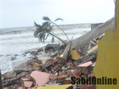 K'taka govt to provide permanent solution to check sea erosion