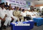 Minister Zameer Ahmed Khan flags off first batch of Haj pilgrims in Mangaluru