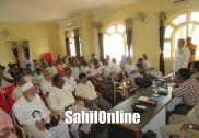 بھٹکل میں عیدالفطر کے پیش نظر پیس میٹنگ کا انعقاد