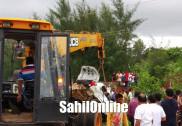 کاروار میں بھیانک سڑک حادثہ؛ تین کی موقع پر موت