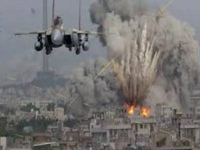 شا م میں جبل مانع میں اسرائیل کے تازہ فضائی حملے
