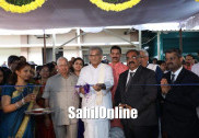 Heggade launches new products of 'Srikrishna Milks' in Yellapur