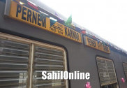 Much awaited upgraded train from Karwar to Pernem flagged off