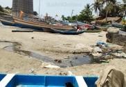 مرڈیشورمیں  گندگی اور آلودگی کی بھرمار : عوام سمیت سیاح بھی پریشان؛ قریب میں پولنگ بوتھ ہونے سے ووٹروں کو بھی ہوسکتی ہے بڑی پریشانی
