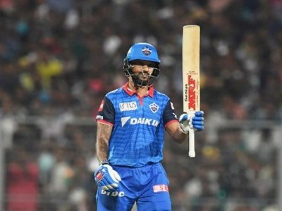 Dhawan strikes 97, Delhi Capitals beat KKR by 7 wickets