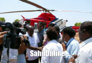 Kumta: EC officials search Karnataka CM Kumaraswamy's chopper