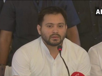 Tejashwi urges Centre to declare Bihar floods as national calamity; seeks Rs 10,000 cr assistance