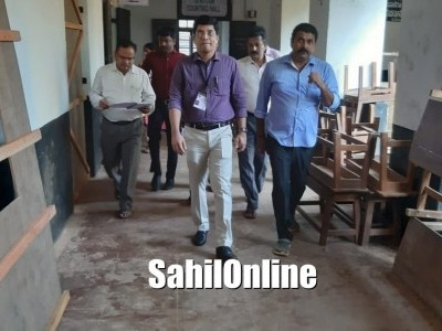 District Returning Officer K Harishkumar reviews poll preparations