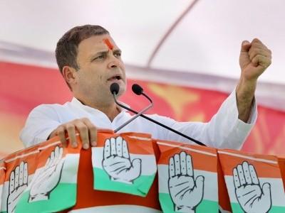 ' نیائے ' معیشت میں نئی جا ن ڈالے گا،نئے روزگارپیدا کرے گا :راہل گاندھی
