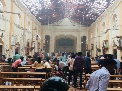 160 killed, over 450 injured as blasts hit three churches, five-star hotels on Easter in Sri Lanka