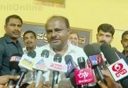 کرناٹک میں جے ڈی ایس مخلوط حکومت کو مستحکم رکھنے کانگریس خواہاں؛ تمام وزراء نے کیا کمارسوامی کی قیادت پر اظہار اعتماد