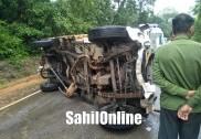 Car-Pickup collision in Sirsi kills 3, injures 2