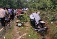 سرسی ۔یلاپور ہائی وے پر کار اور پیک آپ وین کے درمیان خطرناک ٹکر؛ تین کی موقع پر موت