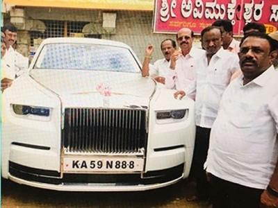 کرناٹک: کانگریس کے باغی رکن اسمبلی  ایم بی ٹی ناگراج  نے خریدی 11 کروڑ کی کار،کیا بی جے پی سے ملا انعام؟