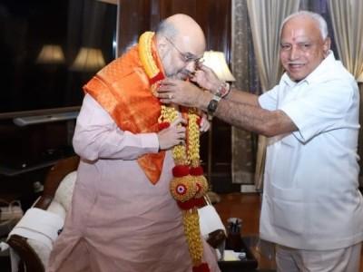 امیت شاہ کی ہری جھنڈی۔ریاستی کابینی میں منگل کو توسیع