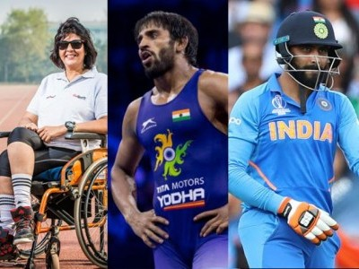 Deepa Malik joins Bajrang for Khel Ratna, cricketer Jadeja among 19 for Arjuna