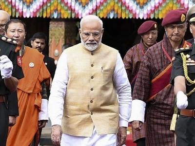 ہندوستان، بھوٹان کی ترقی میں تعاون کرتا رہے گا:مودی