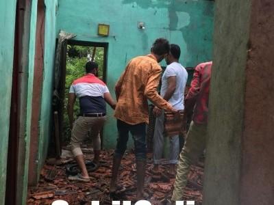 ಭಟ್ಕಳ: ಜಾಲಿಯ ಸಂತ್ರಸ್ತ ಕುಟುಂಬಕ್ಕೆ ಎಸ್ಡಿಪಿಐ ನೆರವು