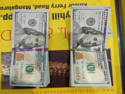 CISF seizes 10,000 US Dollars from passenger at Mangalore Airport