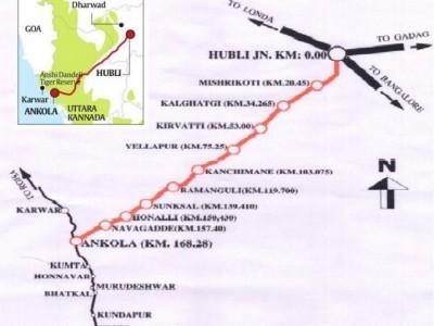 ساگر مالا منصوبہ: انکولہ سے بیلے کیری تک ریلوے لائن بچھانے کے لئے خاموشی کے ساتھ کیاجارہا ہے سروے۔ سیکڑوں لوگوں کی زمینیں منصوبے کی زد میں آنے کا خدشہ