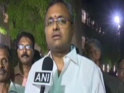 It's being done just to divert attention from issue of Article 370: Karti Chidambaram on father's arrest