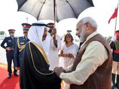 PM Modi arrives in Bahrain to hold talks on bilateral, regional issues