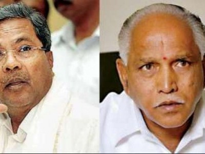Siddaramiah mocks at Yediyurappa over delay in portfolio