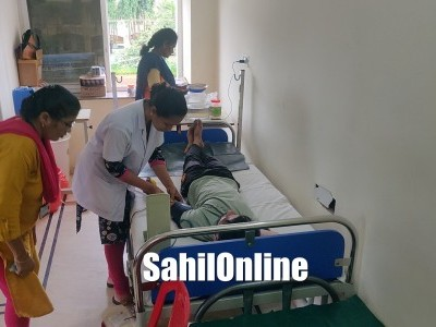 Blood donation camp held at Shams Noor clinic in Bhatkal