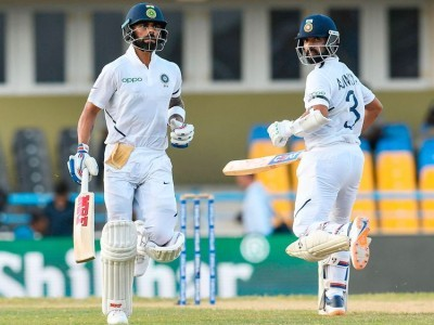Kohli, Rahane power India to commanding position against WI