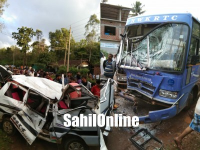 Three youth killed in Sirsi road accident