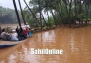 زبردست بارش سے  ہوناور کے شراوتی بیلٹ کے دیہات پانی میں ڈوب گئے؛ ولکی اصلاح اسپورٹس کے نوجوانوں نے متاثرہ لوگوں کو پہنچایا راحت سینٹر