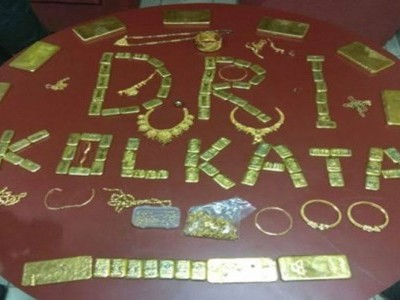 DRI seizes 42 kgs of smuggled gold, arrests ten persons