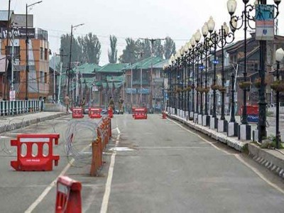 کشمیر میں غیر یقینی صورتحال کا 129 واں دن