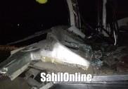 بھٹکل نیشنل ہائی وے پر تیزرفتار بس،  لاری سے ٹکراگئی؛ 25 سے زائد زخمی