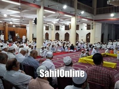 بھٹکل جماعت المسلمین کے سالانہ جلسہ کا انعقاد : دین، تہذیب، ثقافت کی بقا کے لئے اجتماعیت ضروری