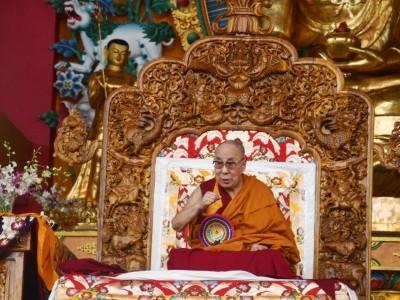 منڈگوڈ میں تبت کے روحانی پیشوا دلائی لامہ : دھرم کے نا م پر فساد ات میں اضافہ قابل تشویش