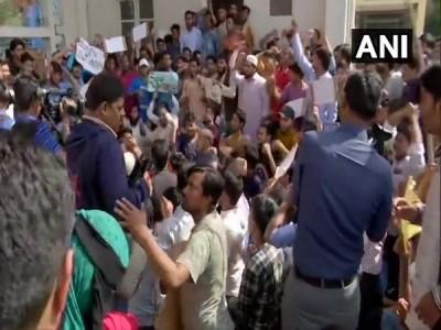 Hyderabad: Protests erupt at Maulana Azad National Urdu University against CAA