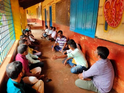 بھٹکل تلاند علاقے میں پینے کے پانی اور نیشنل ہائی وے کے مسائل پر مقامی باشندوں کی میٹنگ