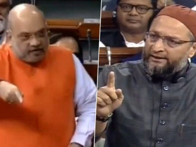 Amit Shah's name will be featured with Hitler, David Ben-Gurion: Asaduddin Owaisi on CAB