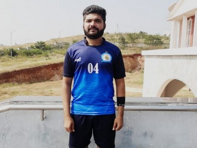 Bhatkali student in Mangaluru crowned University Blue in football for 3rd consecutive time