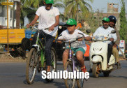 Bhatkal: Hundreds take part in 'Saksham Cyclothon-2019'