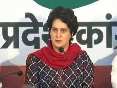 Priyanka Gandhi hits out at Centre over the unemployment