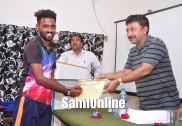 گروسدھیندرا کالج بھٹکل اور جے جی کالج ہبلی نے جیتاکرناٹکا یونیورسٹی شٹل بیڈمنٹن زونل چمپئین کا خطاب؛ بھٹکل انجمن کو سوم مقام